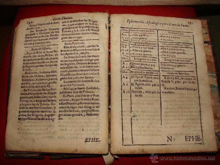 Libros antiguos: LA CORTE SANTA. CORTE DIVINA. LIVRO IV. SIGLO XVII-XVIII ??. TRATADO DE ASTROLOGIA - Foto 6 - 40852908
