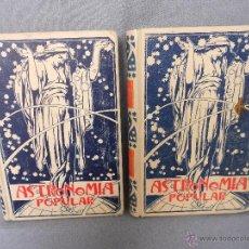 Libros antiguos: ASTRONOMIA POPULAR TOMO I Y II . Lote 42270373