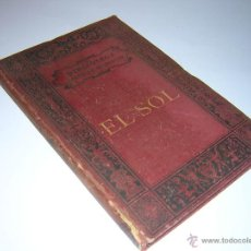 1880 - GUILLEMIN - EL SOL - BIBLIOTECA CIENTÍFICA RECREATIVA