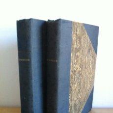 Libros antiguos: ASTRONOMIE POPULAIRE. TOMOS I Y II. CAMILLE FLAMMARION. A.LE VASSEUR EDITEUR. AÑO 1880. ILUSTRADO.. Lote 44980460