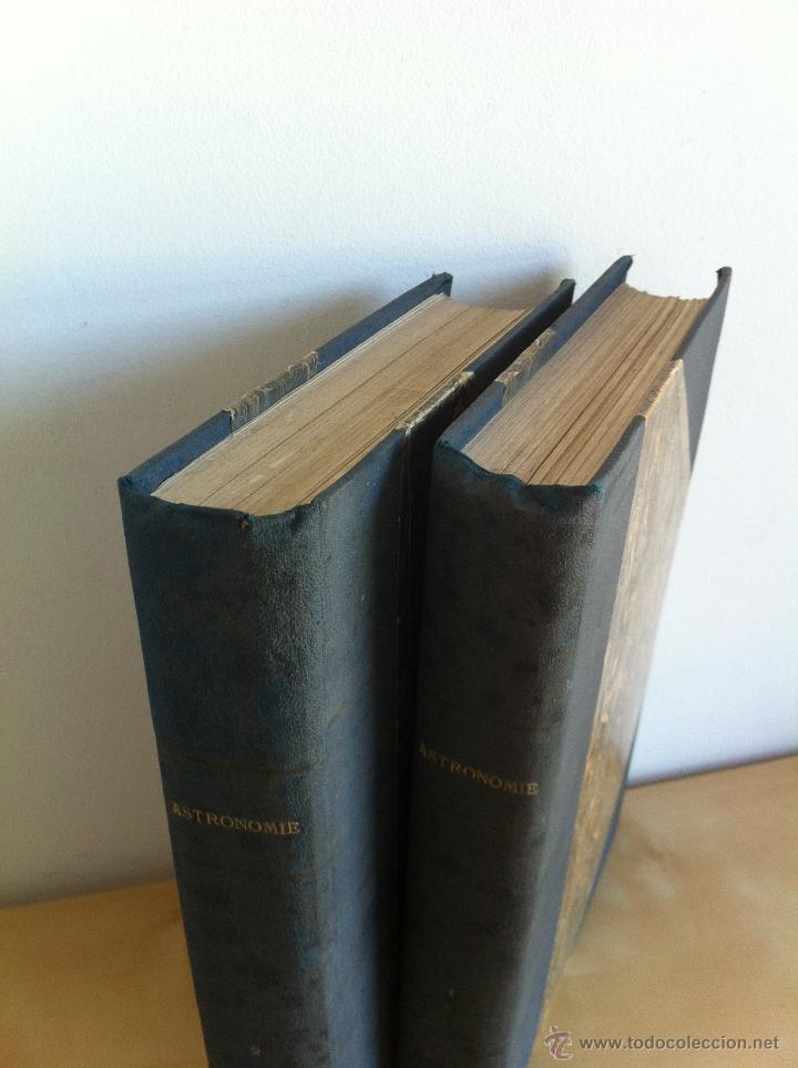 Libros antiguos: ASTRONOMIE POPULAIRE. TOMOS I Y II. CAMILLE FLAMMARION. A.LE VASSEUR EDITEUR. AÑO 1880. ILUSTRADO. - Foto 2 - 44980460