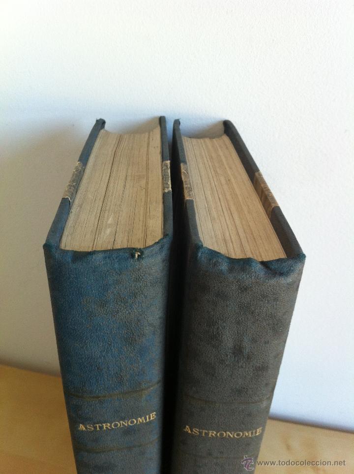 Libros antiguos: ASTRONOMIE POPULAIRE. TOMOS I Y II. CAMILLE FLAMMARION. A.LE VASSEUR EDITEUR. AÑO 1880. ILUSTRADO. - Foto 6 - 44980460