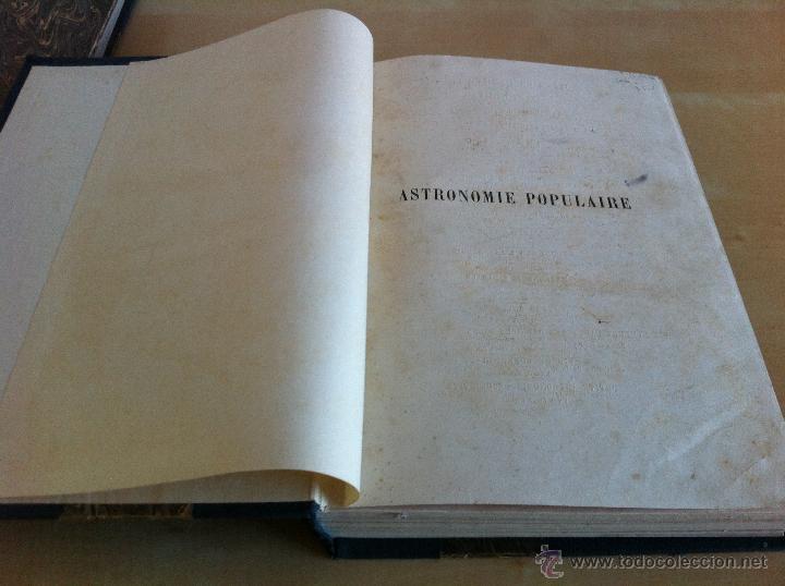 Libros antiguos: ASTRONOMIE POPULAIRE. TOMOS I Y II. CAMILLE FLAMMARION. A.LE VASSEUR EDITEUR. AÑO 1880. ILUSTRADO. - Foto 8 - 44980460