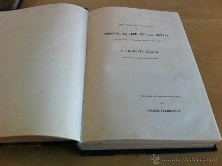 Libros antiguos: ASTRONOMIE POPULAIRE. TOMOS I Y II. CAMILLE FLAMMARION. A.LE VASSEUR EDITEUR. AÑO 1880. ILUSTRADO. - Foto 12 - 44980460