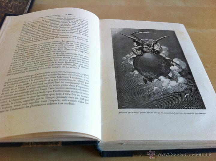Libros antiguos: ASTRONOMIE POPULAIRE. TOMOS I Y II. CAMILLE FLAMMARION. A.LE VASSEUR EDITEUR. AÑO 1880. ILUSTRADO. - Foto 15 - 44980460
