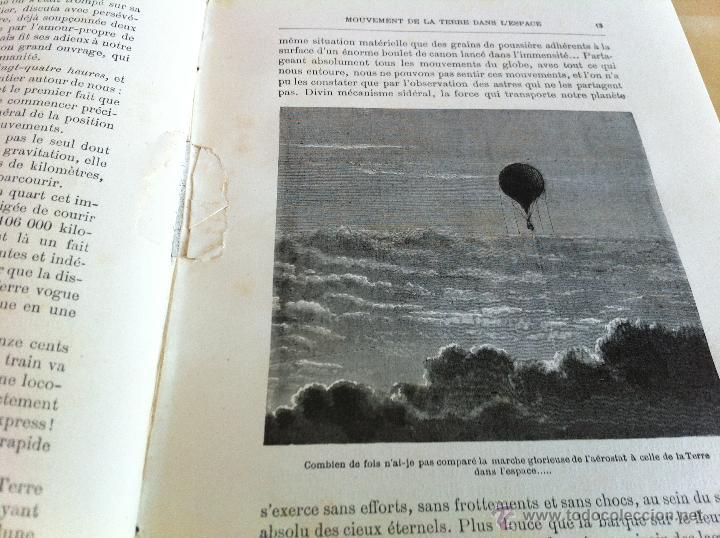 Libros antiguos: ASTRONOMIE POPULAIRE. TOMOS I Y II. CAMILLE FLAMMARION. A.LE VASSEUR EDITEUR. AÑO 1880. ILUSTRADO. - Foto 16 - 44980460