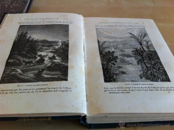 Libros antiguos: ASTRONOMIE POPULAIRE. TOMOS I Y II. CAMILLE FLAMMARION. A.LE VASSEUR EDITEUR. AÑO 1880. ILUSTRADO. - Foto 18 - 44980460