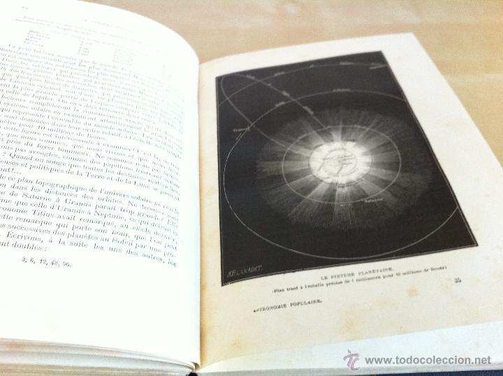 Libros antiguos: ASTRONOMIE POPULAIRE. TOMOS I Y II. CAMILLE FLAMMARION. A.LE VASSEUR EDITEUR. AÑO 1880. ILUSTRADO. - Foto 21 - 44980460