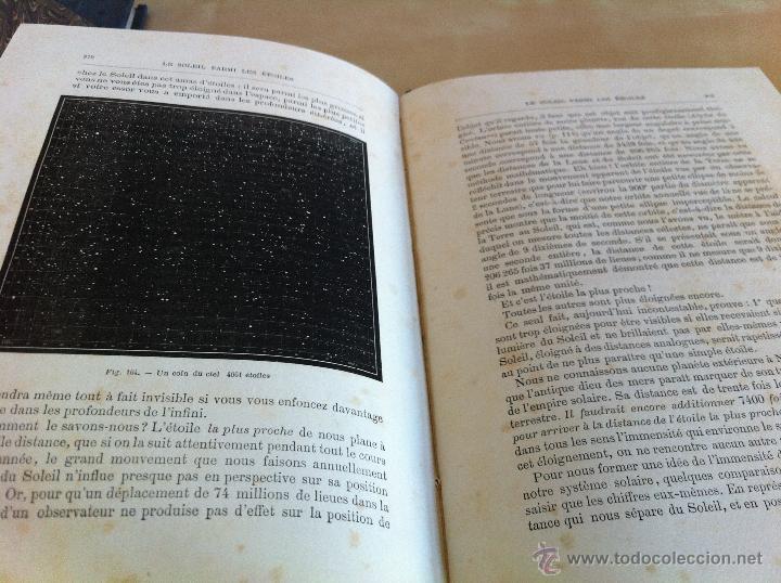 Libros antiguos: ASTRONOMIE POPULAIRE. TOMOS I Y II. CAMILLE FLAMMARION. A.LE VASSEUR EDITEUR. AÑO 1880. ILUSTRADO. - Foto 22 - 44980460