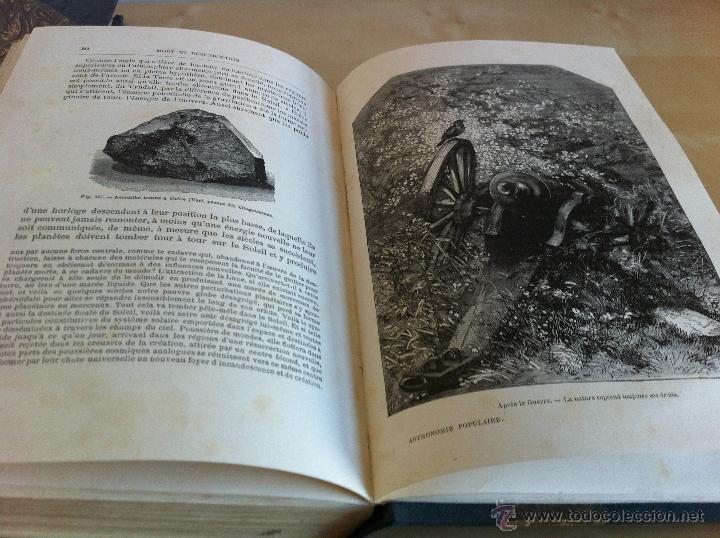Libros antiguos: ASTRONOMIE POPULAIRE. TOMOS I Y II. CAMILLE FLAMMARION. A.LE VASSEUR EDITEUR. AÑO 1880. ILUSTRADO. - Foto 23 - 44980460