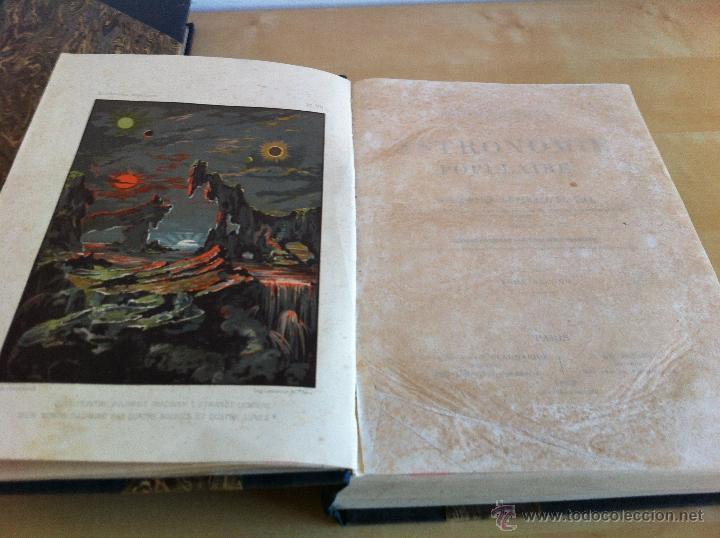 Libros antiguos: ASTRONOMIE POPULAIRE. TOMOS I Y II. CAMILLE FLAMMARION. A.LE VASSEUR EDITEUR. AÑO 1880. ILUSTRADO. - Foto 29 - 44980460