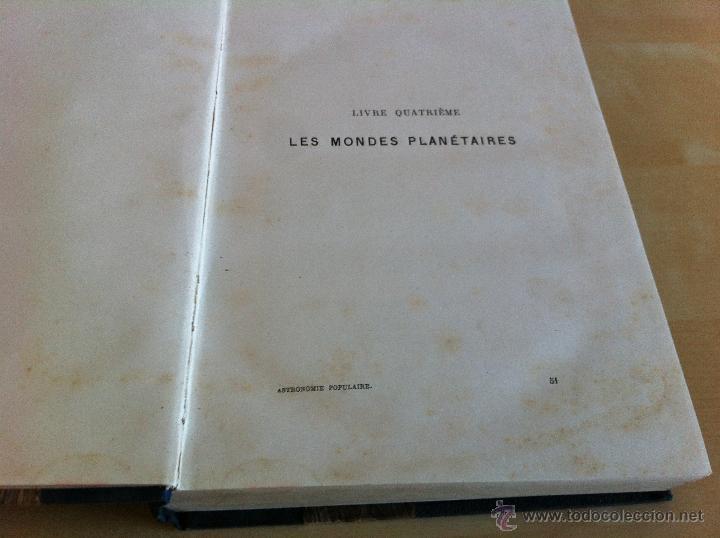 Libros antiguos: ASTRONOMIE POPULAIRE. TOMOS I Y II. CAMILLE FLAMMARION. A.LE VASSEUR EDITEUR. AÑO 1880. ILUSTRADO. - Foto 33 - 44980460