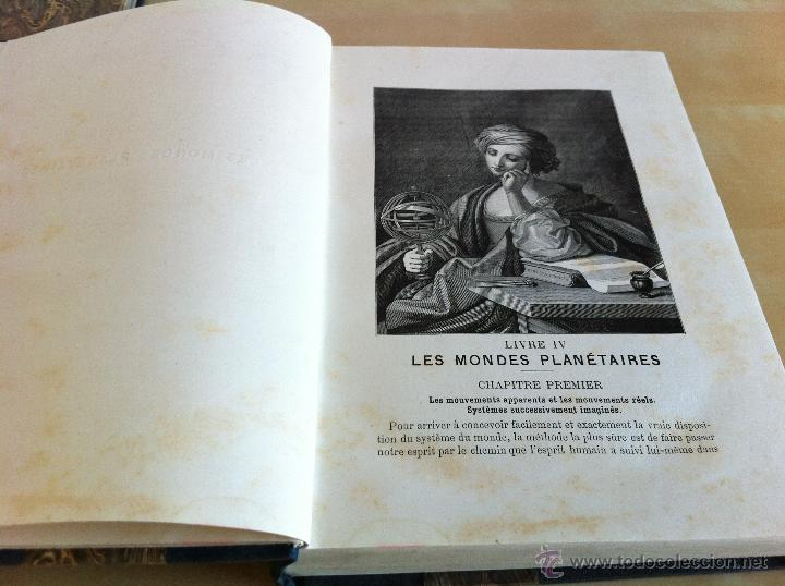 Libros antiguos: ASTRONOMIE POPULAIRE. TOMOS I Y II. CAMILLE FLAMMARION. A.LE VASSEUR EDITEUR. AÑO 1880. ILUSTRADO. - Foto 34 - 44980460