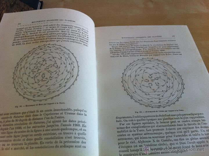 Libros antiguos: ASTRONOMIE POPULAIRE. TOMOS I Y II. CAMILLE FLAMMARION. A.LE VASSEUR EDITEUR. AÑO 1880. ILUSTRADO. - Foto 37 - 44980460