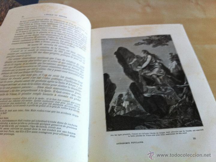 Libros antiguos: ASTRONOMIE POPULAIRE. TOMOS I Y II. CAMILLE FLAMMARION. A.LE VASSEUR EDITEUR. AÑO 1880. ILUSTRADO. - Foto 38 - 44980460