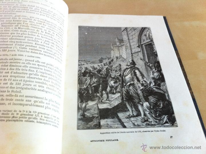 Libros antiguos: ASTRONOMIE POPULAIRE. TOMOS I Y II. CAMILLE FLAMMARION. A.LE VASSEUR EDITEUR. AÑO 1880. ILUSTRADO. - Foto 43 - 44980460