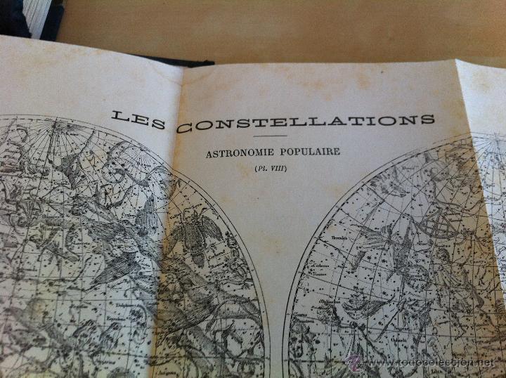 Libros antiguos: ASTRONOMIE POPULAIRE. TOMOS I Y II. CAMILLE FLAMMARION. A.LE VASSEUR EDITEUR. AÑO 1880. ILUSTRADO. - Foto 48 - 44980460