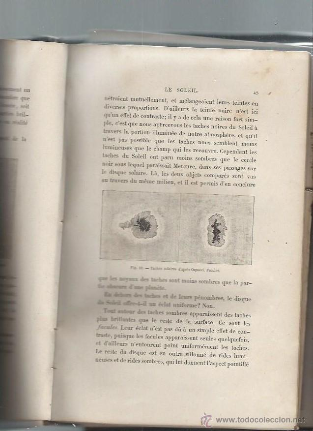 Libros antiguos: LE CIEL, NOTIONS D´ASTRONOMIE, AMÉDÉE GUILLEMIN, PARIS HACHETTE ET CIE 1865, ILUSTRADA - Foto 2 - 45609511