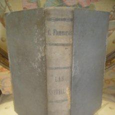 Libros antiguos: LAS ESTRELLAS Y CURIOSIDADES DEL CIELO, DE CAMILO FLAMMARION. TOMO I. 1.883.. Lote 45755994
