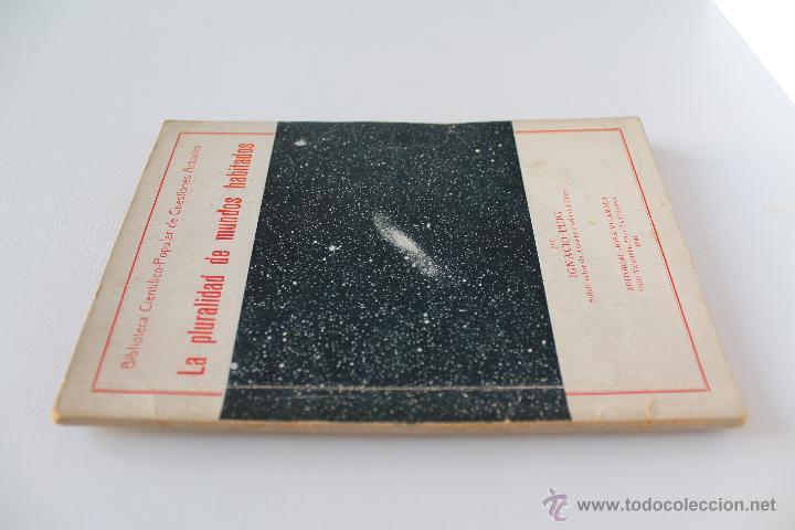 Libros antiguos: La pluralidad de los mundos habitados. Ignacio Puig. 1934 - Foto 3 - 46307099
