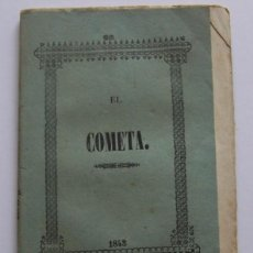 Libros antiguos: MADRID AÑO 1843 * EL COMETA DE 1843 * RESEN~A DEL SISTEMA DEL MUNDO Y DE TODOS LOS DEMAS COMETAS .... Lote 46626004