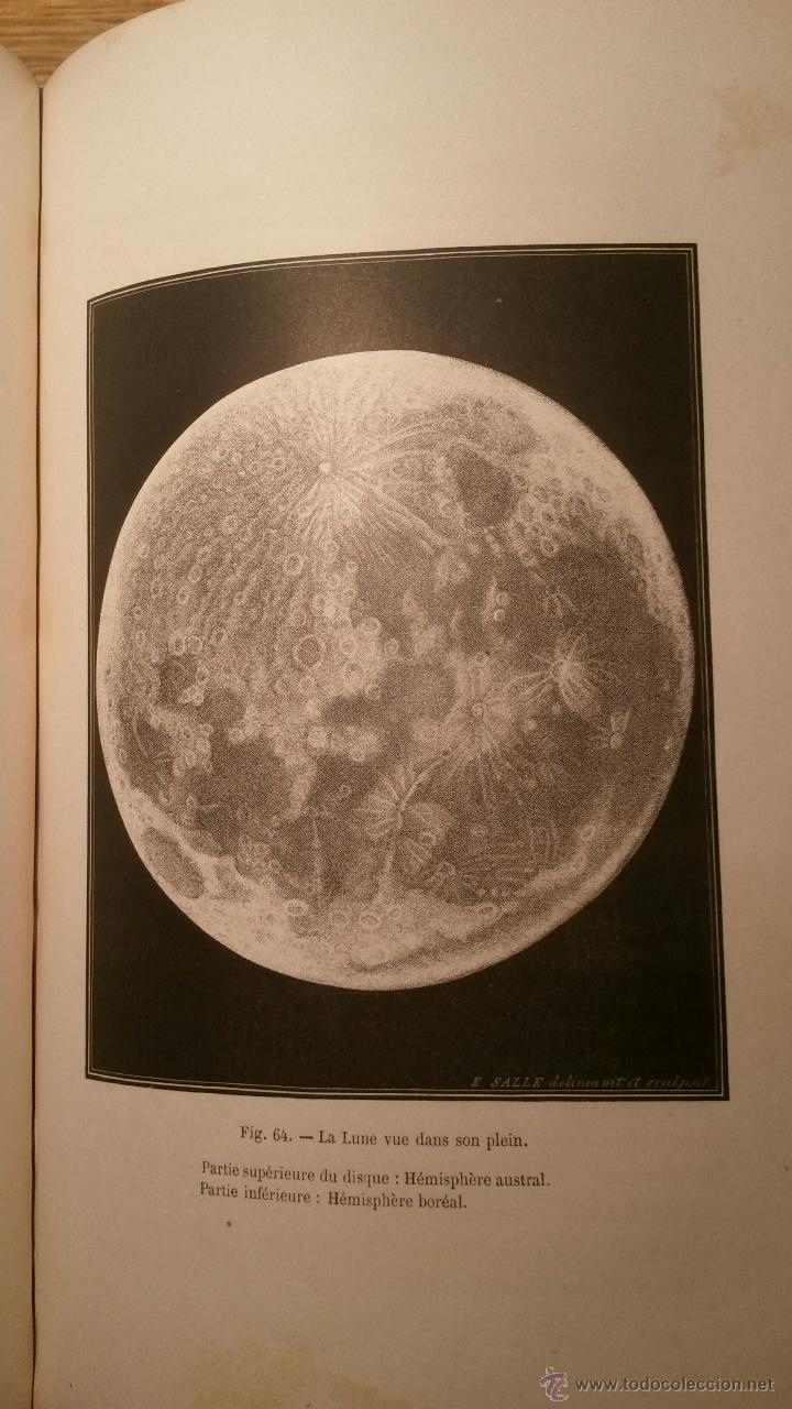 Libros antiguos: Le Ciel notions dastronomie. Amedee Guillemin, Paris 1864 - Foto 5 - 46744898