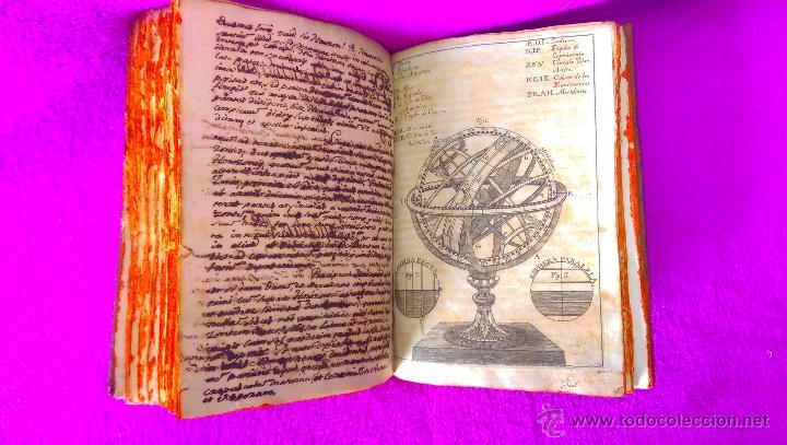 2 VOL, MANUSCRITO ORIGINAL DE ASTRONOMIA, SPHAERA, METAFISICA Y FILOSOFIA 1790 (Libros Antiguos, Raros y Curiosos - Ciencias, Manuales y Oficios - Astronomía)