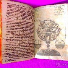 Libros antiguos: 2 VOL, MANUSCRITO ORIGINAL DE ASTRONOMIA, SPHAERA, METAFISICA Y FILOSOFIA 1790. Lote 47231119