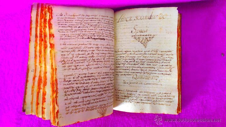 Libros antiguos: 2 VOL, MANUSCRITO ORIGINAL DE ASTRONOMIA, SPHAERA, METAFISICA Y FILOSOFIA 1790 - Foto 4 - 47231119