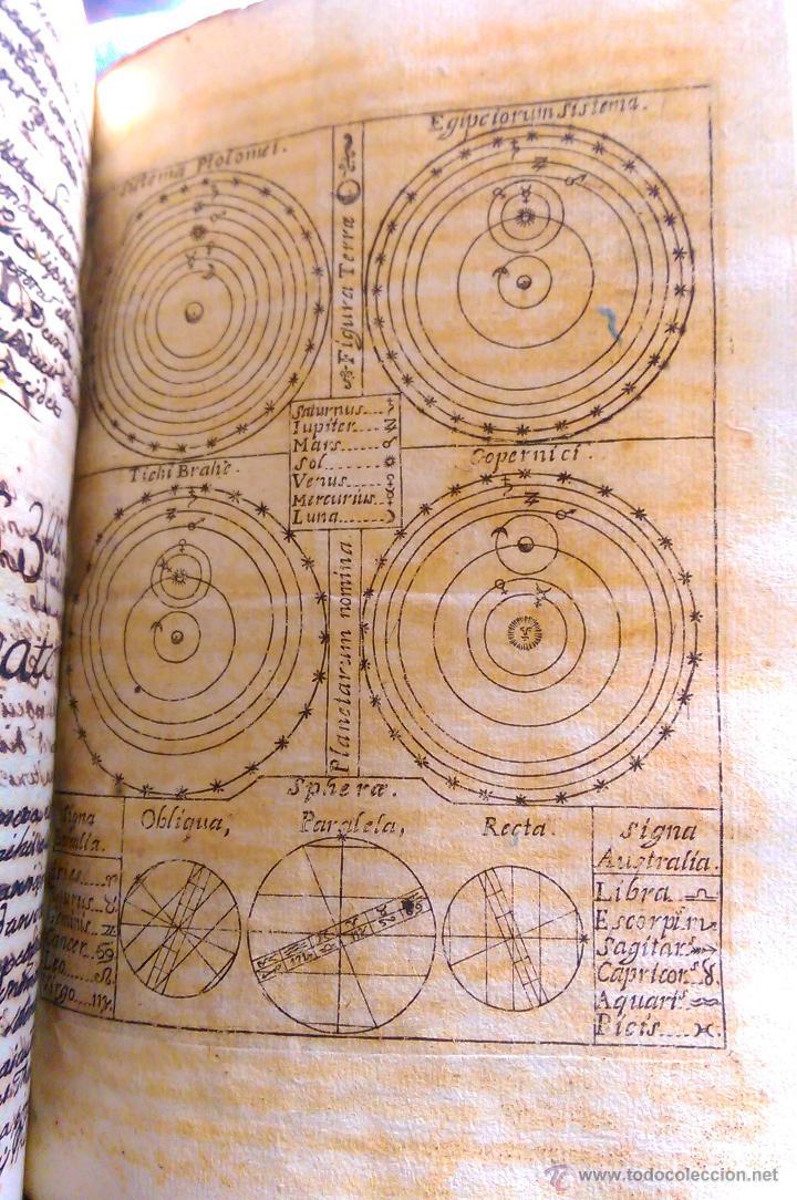 Libros antiguos: 2 VOL, MANUSCRITO ORIGINAL DE ASTRONOMIA, SPHAERA, METAFISICA Y FILOSOFIA 1790 - Foto 5 - 47231119