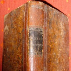 Libros antiguos: GERÓNIMO CORTÉS. LUNARIO PERPETUO. 1855. Lote 47333235