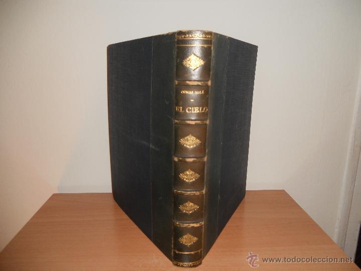 Libros antiguos: EL CIELO.- D.JOSE COMAS SOLÁ - Foto 2 - 47581756