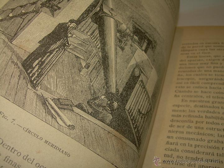 Libros antiguos: LA HISTORIA DE LOS CIELOS....TRATADO DE ASTRONOMIA.....CON NUMEROSISIMOS GRABADOS Y CROMOLITOGRAFIAS - Foto 7 - 48687161