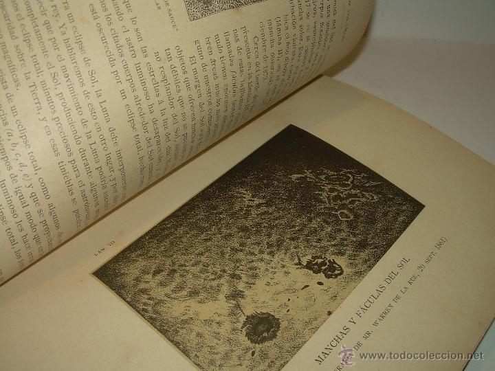 Libros antiguos: LA HISTORIA DE LOS CIELOS....TRATADO DE ASTRONOMIA.....CON NUMEROSISIMOS GRABADOS Y CROMOLITOGRAFIAS - Foto 8 - 48687161