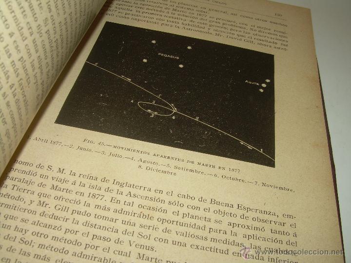 Libros antiguos: LA HISTORIA DE LOS CIELOS....TRATADO DE ASTRONOMIA.....CON NUMEROSISIMOS GRABADOS Y CROMOLITOGRAFIAS - Foto 10 - 48687161
