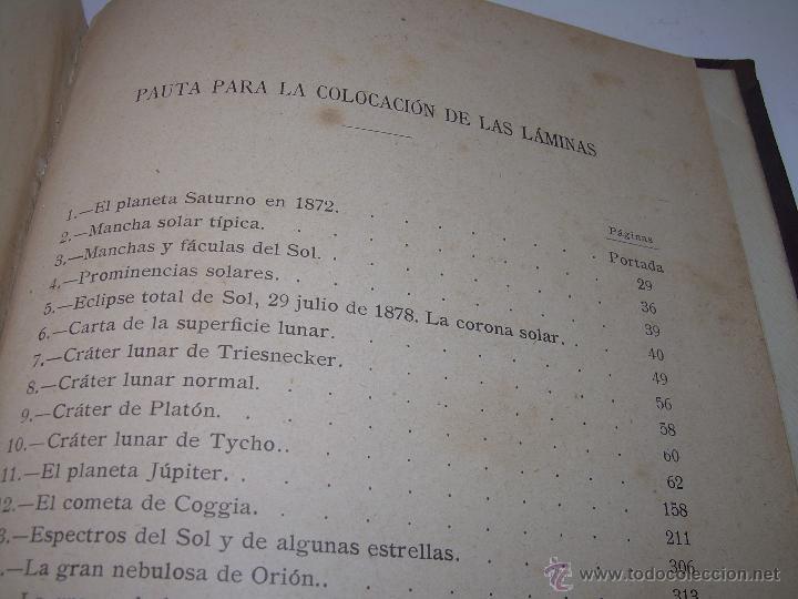 Libros antiguos: LA HISTORIA DE LOS CIELOS....TRATADO DE ASTRONOMIA.....CON NUMEROSISIMOS GRABADOS Y CROMOLITOGRAFIAS - Foto 14 - 48687161