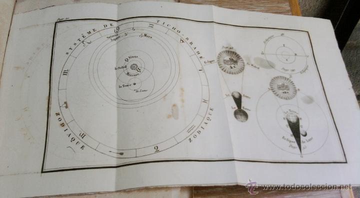 Libros antiguos: LIBRO AÑO 1826,TEMA ASTRONOMIA,GLOBO TERRAQUEO Y CELESTE-LES USAGES DE LA SPHERE DES GLOBES-FRANCES - Foto 3 - 48809471