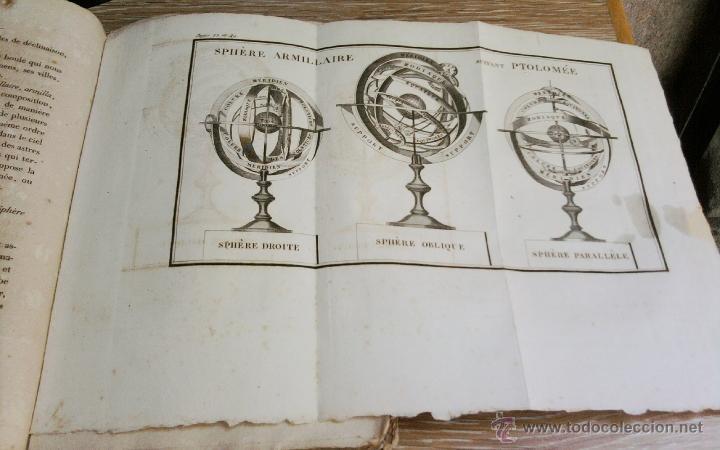 Libros antiguos: LIBRO AÑO 1826,TEMA ASTRONOMIA,GLOBO TERRAQUEO Y CELESTE-LES USAGES DE LA SPHERE DES GLOBES-FRANCES - Foto 8 - 48809471