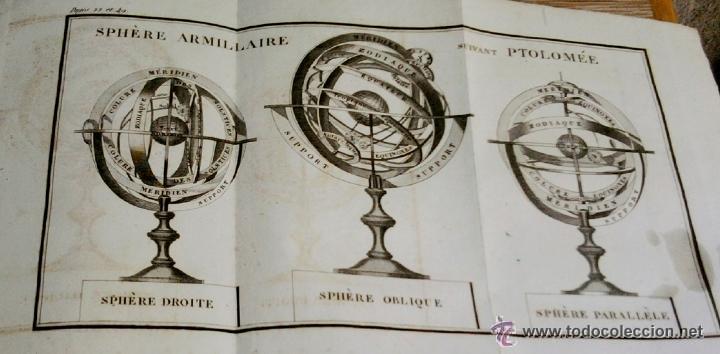 Libros antiguos: LIBRO AÑO 1826,TEMA ASTRONOMIA,GLOBO TERRAQUEO Y CELESTE-LES USAGES DE LA SPHERE DES GLOBES-FRANCES - Foto 9 - 48809471