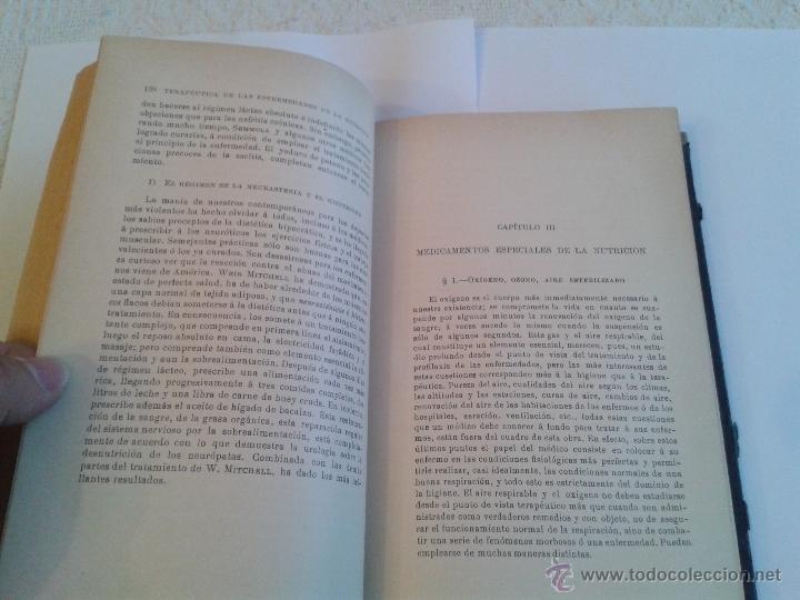Libros antiguos: MANUAL DE TERAPEUTICA POR X. ARNOZAN, TOMO I DE FINALES DEL XIX Y PRINCIPIOS DEL XX - Foto 3 - 49027517