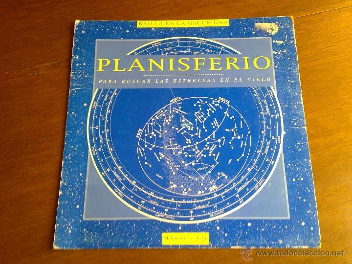 Libros antiguos: PLANISFERIO LUMINISCENTE DE MELQUIADES Y MERLIN PARA BUSCAR LAS ESTRELLAS EN EL CIELO VER FOTOS - Foto 2 - 179248373