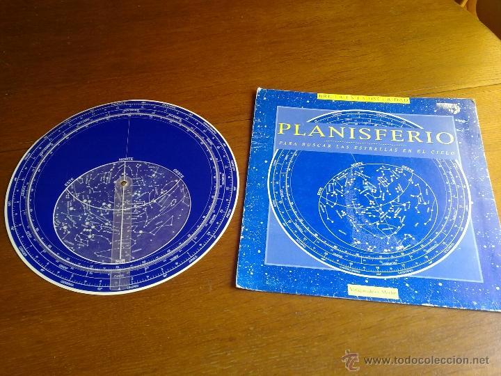 Libros antiguos: PLANISFERIO LUMINISCENTE DE MELQUIADES Y MERLIN PARA BUSCAR LAS ESTRELLAS EN EL CIELO VER FOTOS - Foto 3 - 179248373