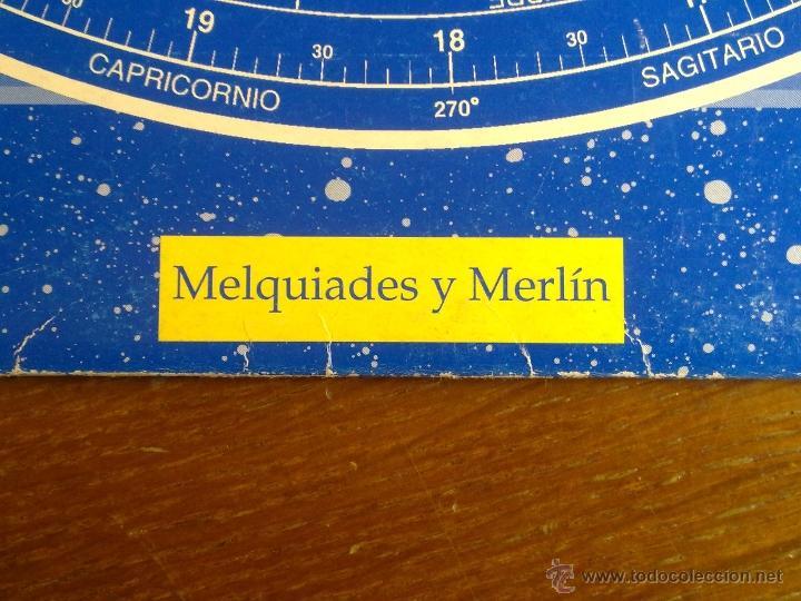Libros antiguos: PLANISFERIO LUMINISCENTE DE MELQUIADES Y MERLIN PARA BUSCAR LAS ESTRELLAS EN EL CIELO VER FOTOS - Foto 6 - 179248373