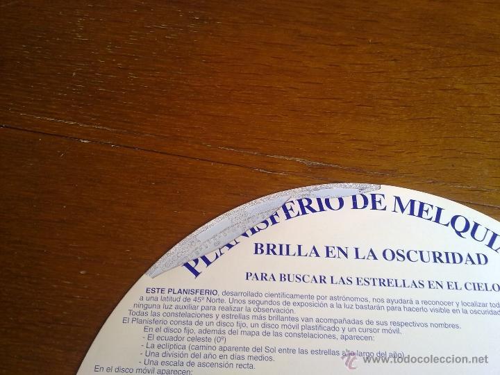 Libros antiguos: PLANISFERIO LUMINISCENTE DE MELQUIADES Y MERLIN PARA BUSCAR LAS ESTRELLAS EN EL CIELO VER FOTOS - Foto 10 - 179248373