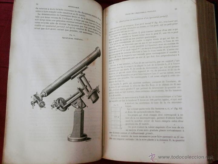 Libros antiguos: LIBRO-CURSO DE ASTRONOMIA-AÑO 1865, PARA OFICIALES DE LA MARINA IMPERIAL,SIGLO XIX, EN FRANCES - Foto 6 - 49507776