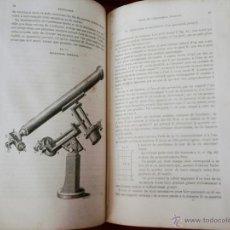 Libros antiguos: LIBRO-CURSO DE ASTRONOMIA-AÑO 1865, PARA OFICIALES DE LA MARINA IMPERIAL,SIGLO XIX, EN FRANCES. Lote 49507776