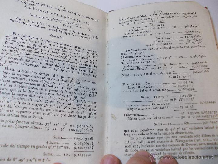 Libros antiguos: ANTIGUO LIBRO ALMANAQUE NAUTICO Y EFEMERIDES ASTRONOMICAS CALCULADAS PARA EL AÑO 1824 - Foto 4 - 49529637