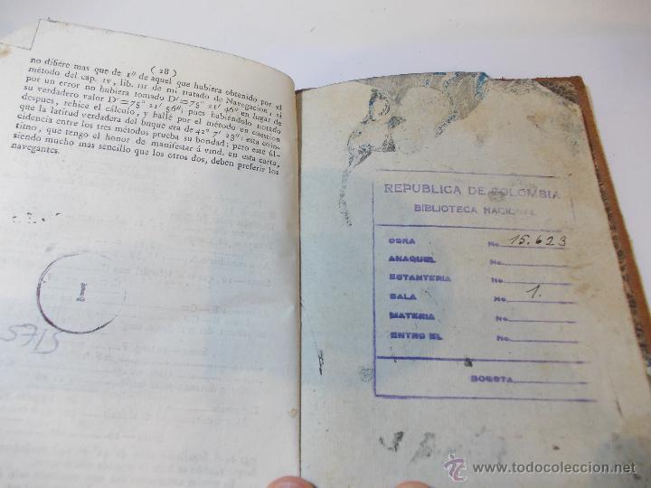 Libros antiguos: ANTIGUO LIBRO ALMANAQUE NAUTICO Y EFEMERIDES ASTRONOMICAS CALCULADAS PARA EL AÑO 1824 - Foto 5 - 49529637