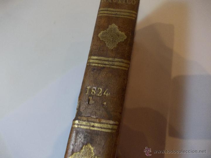 Libros antiguos: ANTIGUO LIBRO ALMANAQUE NAUTICO Y EFEMERIDES ASTRONOMICAS CALCULADAS PARA EL AÑO 1824 - Foto 9 - 49529637