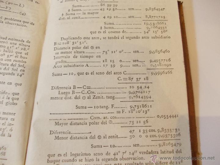 Libros antiguos: ANTIGUO LIBRO ALMANAQUE NAUTICO Y EFEMERIDES ASTRONOMICAS CALCULADAS PARA EL AÑO 1824 - Foto 4 - 49529980